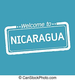 Welcome to NICARAGUA illustration design