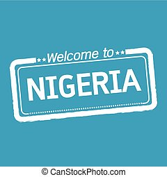 Welcome to NIGERIA illustration design