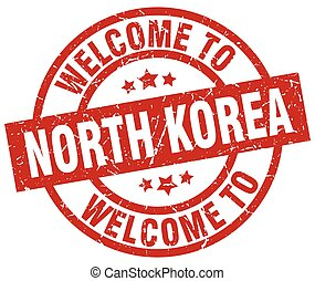 welcome to North Korea red stamp