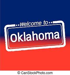 Welcome to Oklahoma City illustration design