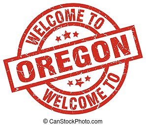 welcome to Oregon red stamp