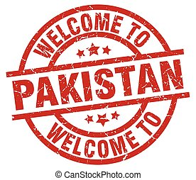 welcome to Pakistan red stamp