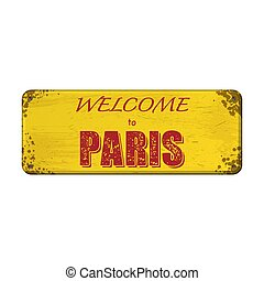Welcome to Paris board