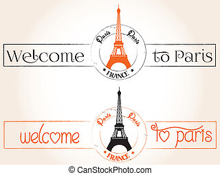 Welcome to Paris