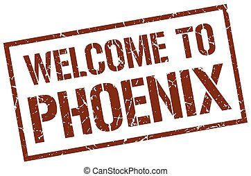 welcome to Phoenix stamp