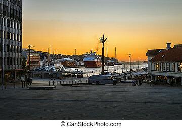 Welcome to port of Stavanger