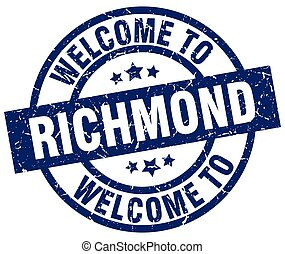 welcome to Richmond blue stamp