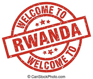 welcome to Rwanda red stamp
