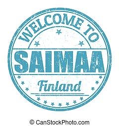 Welcome to Saimaa stamp