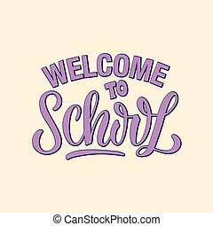 Welcome to school inscription
