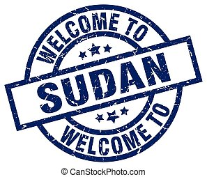 welcome to Sudan blue stamp
