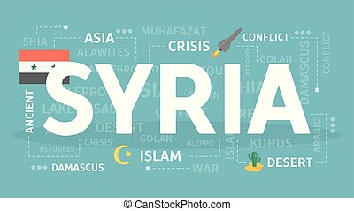 Welcome to Syria. Visit islamic country with ruch heritage.