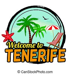Welcome to Tenerife concept