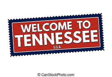 Welcome to Tennessee travel sticker