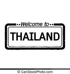 Welcome to THAILAND illustration design