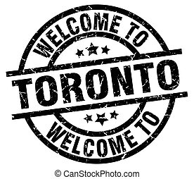 welcome to Toronto black stamp