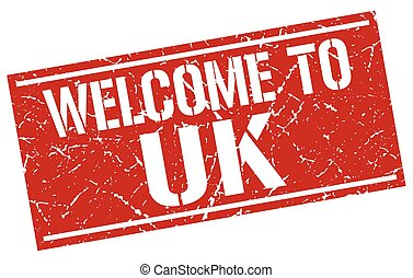 welcome to uk stamp