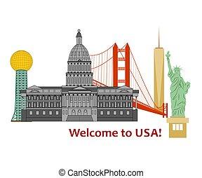 welcome to USA