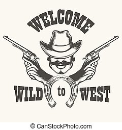 Welcome to Wild West Emblem