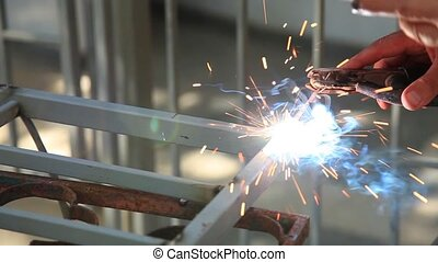 weld - worker used weld