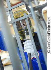 welder doing his work