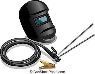 welding equipment - illustration of equipment for welding...