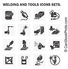 Welding icon - Welding and tools icons sets.