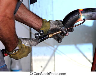 Welding of pipes