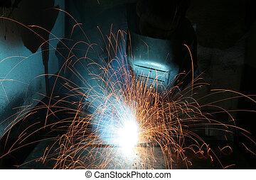 welding, - welding