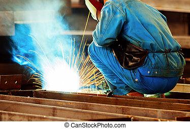 welding with mig-mag method