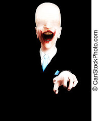 Well Dressed Horror - Very creepy and sinister looking ...