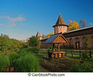 Well in the monastery garden