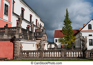 Well-maintained Monastery