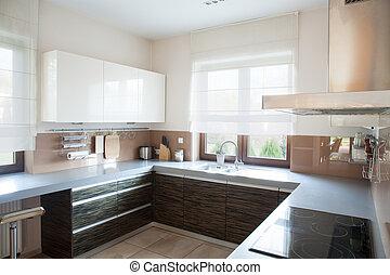 well-organized, cozinha, interior