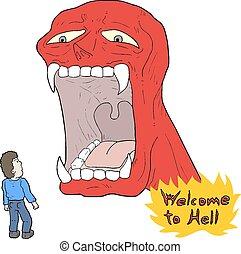 wellcome, 地獄