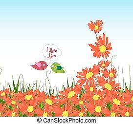 wellcome, 春, ひまわり