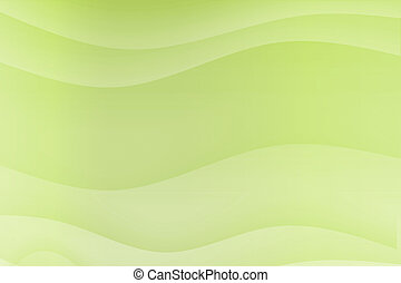 wellen, grün, strömend, besänftigung