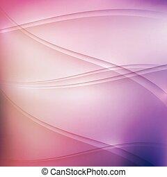 wellen, hintergrund, mehrfarbig, abstrakt