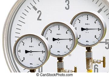 Wellhead Pressure Gauge - High pressure reading on gas...
