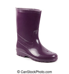 wellington boot isolated on a white background