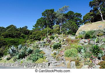 wellington, jardín botánico