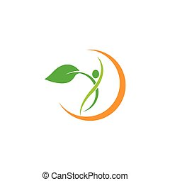 Wellnes logo template