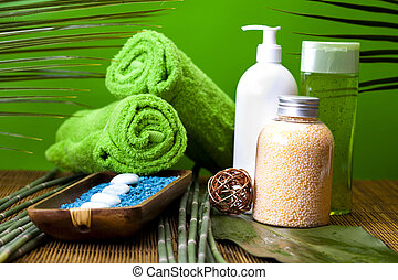 Wellness and spa concept - Spa and body care composition