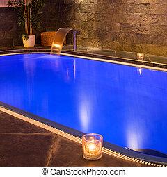 Wellness and Spa swimming pool