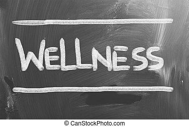 wellness, conceito