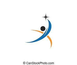 wellness, gabarit, logo