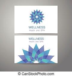 wellness logo - Wellness logo. Template design corporate...