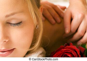 wellness, masaż
