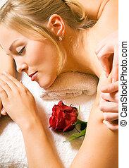 wellness, massagem