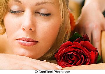 wellness, massaggio